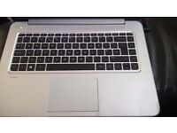 Hp silver beats audio laptop