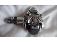 Shimano Dura Ace SPD clipless road bike / bicycle pedals. Look identical to PD-7410s, but not marked