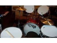 Drum kit and accessories