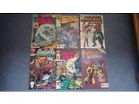6 Marvel Comics (80s, 90s)