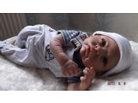 Reborn baby boy 18 inches Newborn size brand new