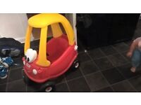 little tykes cozy coupe car £25