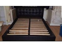 Cheap king size bed for sale !!! + stool and drawer
