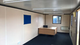 """PORTABLE CABIN - 32ft OFFICE - """"READY TO GO"""" - SHIPPING CONTAINER"""