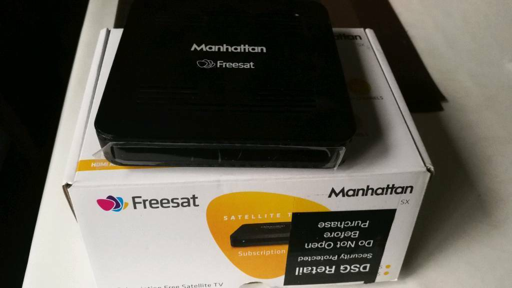 Manhattan Freesat TV box | in Matlock, Derbyshire | Gumtree