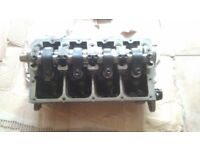 VW PASSAT Audi A4 1.9 TDI PD 130 BHP AWX AWF CYLINDER HEAD WITH INJECTORS! WITHOUT HIDRAULIC LIFTERS