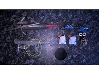 "Star Wars and Gi Joe 3:75"" figure weapon accessories"