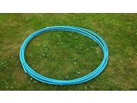 New and unused 27.3m 20mm MDPE water pipe