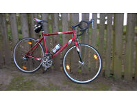 Giant OCR compact road bike. Large - 57cm. Red. Good condition, light use.