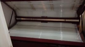 Heavy duty commercial sunbeds
