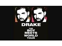 Drake tickets Birmingham Thursday 23rd February tickets in hand.