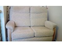 Nearly new 2 seater sofa