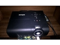 Infocus SP8600 1080p projector and 92 inch pull down screen