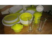 Lime Dinnerware,Stoneware - Mug, Plates, Bowls, Ramekins, Glasses, Roasting & Casserole Dishes