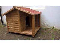 Small Dog Log Cabin - Kennel