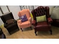 Choice of chairs/armchairs highback & comfy Delivery Poss