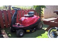 Lawnflite 503 Lawn Tractor, Ride on Lawn Mower with grass box. Good condition.