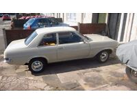 Vauxhall Viva hc 1975 lhd classic car excellent condition. Uk registerd v5 present.