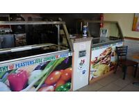 Chicken and fish takeaway with accommodation in Southampton for sale