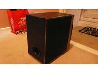 large passive sub woofer 450 watts massive power