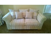 Brand new 2x two seater sofas