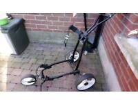 Turf glider 3 wheel golf trolley