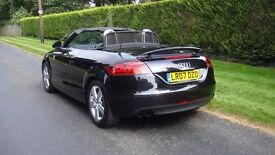 audi TT 2.0 t fsi automatic two owners full service history met black full nappa leather trim