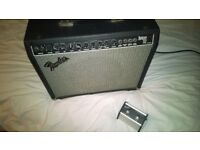 A lovely old Fender Deluxe 112 300 watt amp & foot pedal