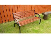 retro garden seat
