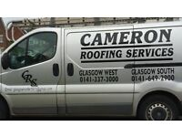 Experienced Roofer Glasgow - services incl Slating, Tiling, Gutters, Repairs, Insurance etc