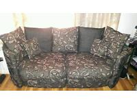 Sofa , side table , center table , tv set