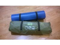 1 man solo tent and roll mat - inc. carry case - brand new, never used
