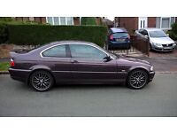 Bmw 320ci Sports Coupe. Full leather .. Angel eyes . very good condition. sound engine! 12month mot