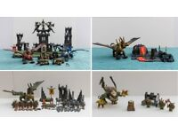 Mega Bloks Dragons - Collection of Four Sets