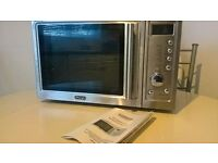 DeLonghi DMX40 800w stainless steel multifunctional microwave