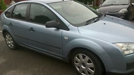 Ford Focus 06 plate TDCI Blue