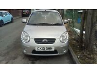 KIA PICANTO 2010 10 PLATE, CHEAP TO RUN £30 TAX, 1.0 PETROL 5 DOOR ONLY 17,000 MILES 1 YEARS MOT