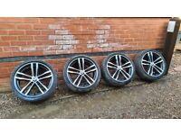 "Genuine BMW 3 4 Series 19"" 704 M Sport Alloy Wheels F30 31 33 34 E92"