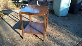 Dining serving trolley