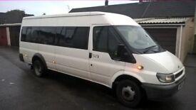 2004 ford transit 17 seat minibus
