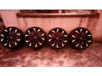 "ALLOYS + TYRES, WHEELS, 19"" WOLFRACE ASSASSIN, 5x100"
