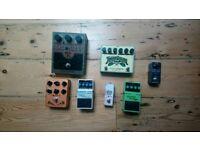 Guitar Pedals - job lot (electro harmonix, boss, TC electronic)