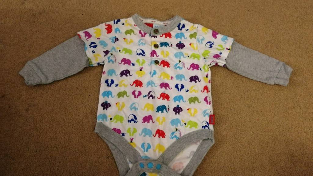 Ted Baker 6-9 month top NEW