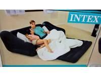 Intex 3 in 1 air bed/sofa