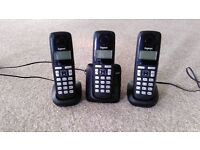 Gigaset A220 Trio House Phone with Answer Machine