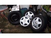 Various rims and wheels