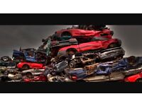 Scrap cars lifted free
