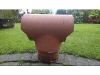 DFE Chimney Pot (Clay Terracotta Cowl)