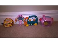 V Tech Toys and Fisher Price bundle