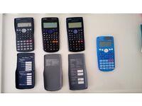 CASIO Scientific Calculators , fx-83 and fx-85 series
